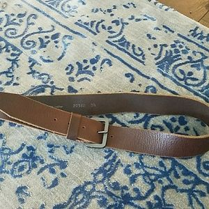 Accessories - Leather belt 34